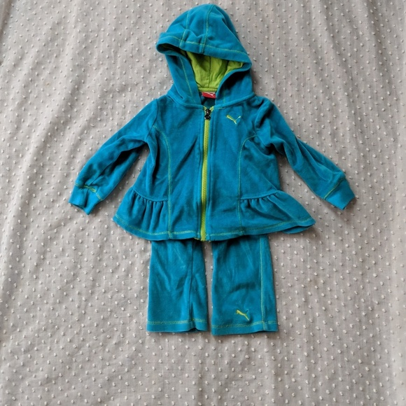 Puma Other - Puma velour outfit size 18 months
